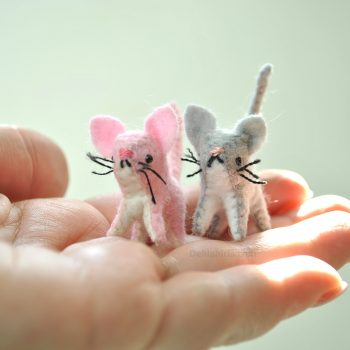 tiny cat sewing pattern