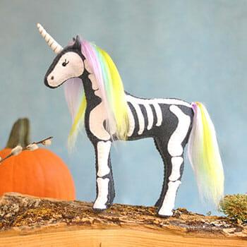 DIY Unicorn Skeleton