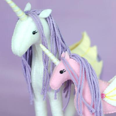 unicorn sewing pattern