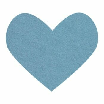 blue dream wool felt