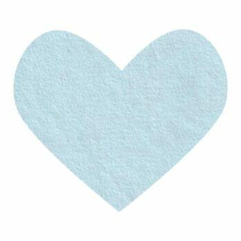blue frost wool felt
