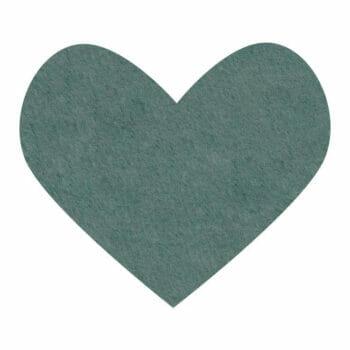 blue spruce wool felt