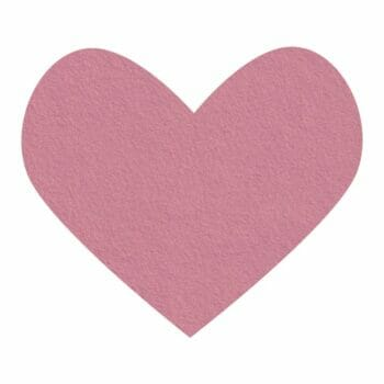 blushing bride wool felt