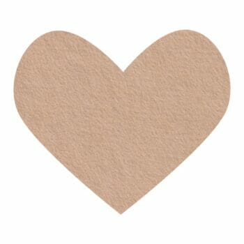 coffee wool felt