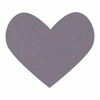 iron gray wool felt
