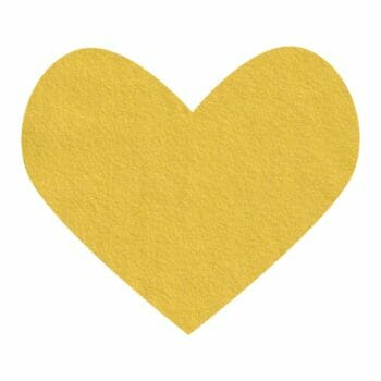mellow yellow wool felt
