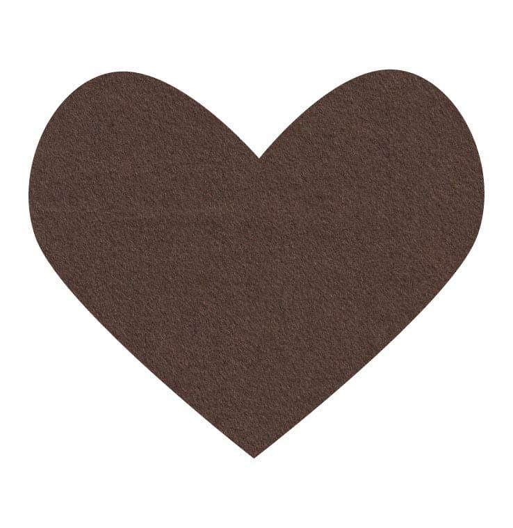brown wool felt