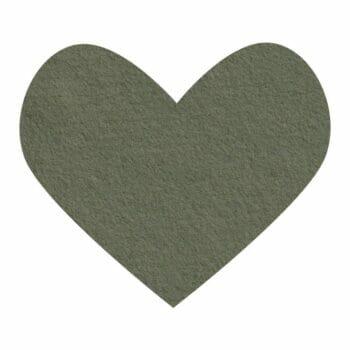 olive green wool felt