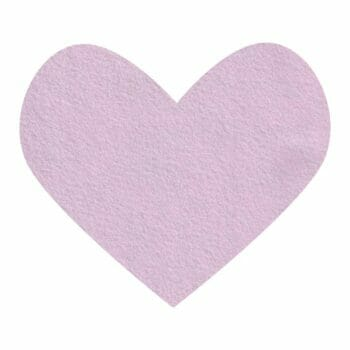 pink frost wool felt
