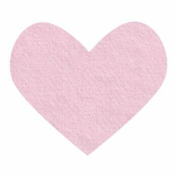 pink sweetness wool felt
