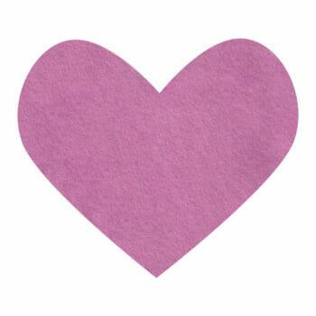 pink violet wool felt