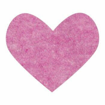pixie pink wool felt