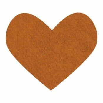 pumpkin spice wool felt