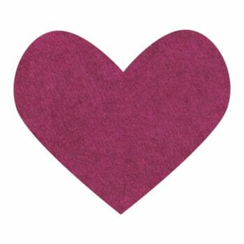 Ruby Red Slippers Wool Felt