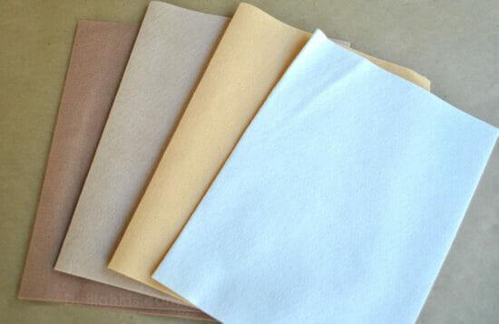 wool felt sheets