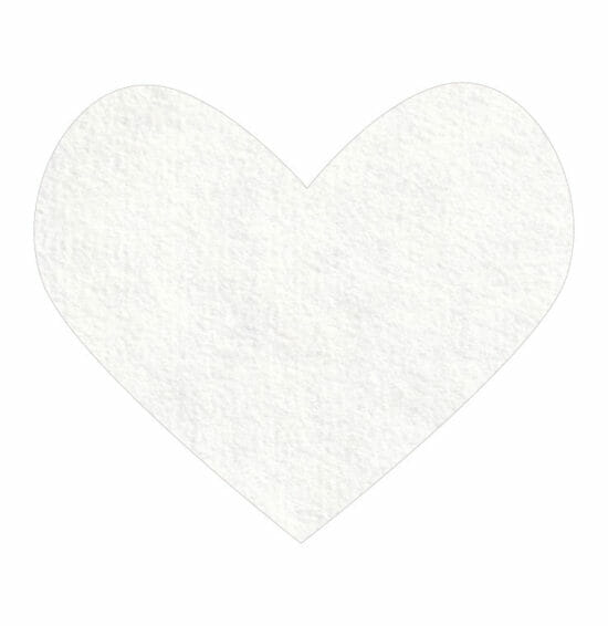white wool felt