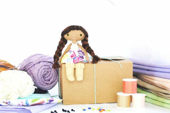 mystery felt craft kit